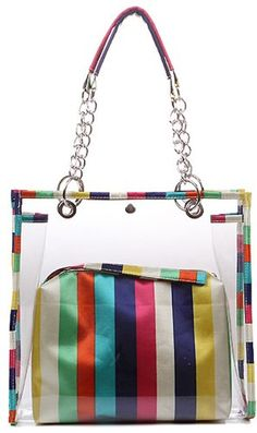 Clear Handbags, Tote Handbags, Clear Tote Bags, Transparent Bag, Work Bags, Tote Purse, Couture, Handmade Bags, Purses And Bags