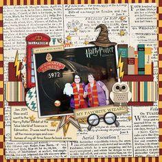 Trendy travel scrapbook pages harry potter 70 Ideas Scrapbook Sketches, Scrapbooking Layouts, Digital Scrapbooking, Travel Scrapbook Pages, Disney Scrapbook, Harry Potter Scrapbook, Harry Potter Universal, Universal Orlando, Universal Studios