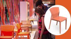 Cadeira Serelepe, nova linha de cadeiras de Guto Indio da Costa. Lançamento ocorreu na Semana Design Rio