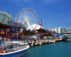 Chicago's lakefront playground and the Midwest's #1 tourist and leisure destination, historic Navy Pier attracts more than 8.6 million visitors a year. You can explore 50 acres of parks, promenades, gardens and attractions, including the family pavilion and a 15-story tall Ferris wheel. Take a boat ride on Lake Michigan or marvel at the acrobats in Cirque Shanghai.