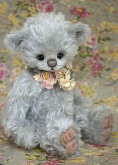'Truly'... 'Nursery bear' - made by Jenny at Three O'Clock Bears.