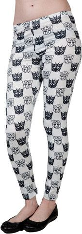 I MUST AQUIRE THESE!  Transformer Leggings – 80sTees.com, Inc.
