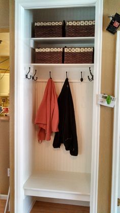 Superbe Garage Entry Closet Style Entryway Closet, Front Closet, Garage Entry, Hall  Closet,