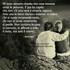 Parole della Vita | Semplicemente Donna by Ritina80 More Than Words, Some Words, Italian Quotes, Quotes About Everything, Big Love, My Mood, Pablo Neruda, Letting Go, Einstein