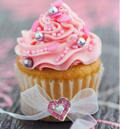 Jeweled Cupcake