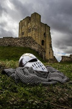 Scarborough Castle, England, dates from 1150s