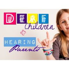 Parents: this website offers a helpful page for families to orient themselves among all the various and often conflicting information and advice given to parents of children with hearing loss (which make up nearly of families Asl Sign Language, American Sign Language, Hearing Impaired, Hearing Aids, Deaf Children, Deaf Culture, Science Education, In Kindergarten, Special Education