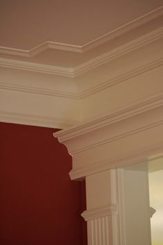 Interior Crown Molding    Please Share, Repin and Like Thanks