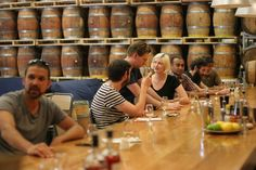 Distillery whisky bar