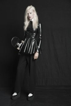 Coliena Rentmeester shoots edgy, pre-fall pieces for C Magazine's summer 2013 issue.  Capture by Versatile Studios.