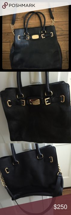 Michael kors Hamilton bag Large black and gold Michael kors bag - BRAND NEW Michael Kors Bags Totes