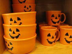 Halloween Fiestaware ❤❤❤
