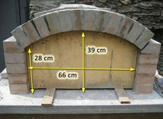 Oven with fireproof stones with rectangular bottom (construction .- Oven with fireproof bricks with rectangular bottom (construction) page 2 So …, # refractory - Build A Pizza Oven, Pizza Oven Outdoor, Outdoor Cooking, Brick Oven Outdoor, Wood Oven, Wood Fired Oven, Wood Fired Pizza, Pizza Oven Fireplace, Oven Diy