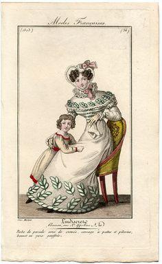 plate 36 - Modes Francaises -- L'Indescret