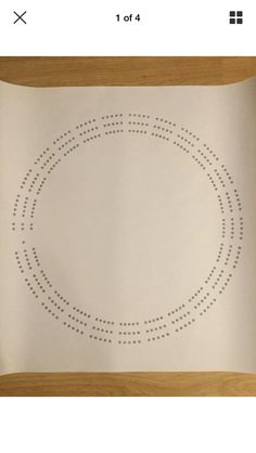 """Large round cribbage board hole pattern paper template is 24"""" x 24"""" piece of paper. Round hole pattern is approx. 19"""" across. Thumb tack or tape paper template to board of your choosing and lightly punch mark holes. Remove paper template before drilling holes. Recommended hole diameter is 1/8""""- 3/16""""."""