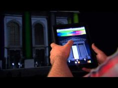 NuFormer - 3D video mapping interactivity test, April 2011