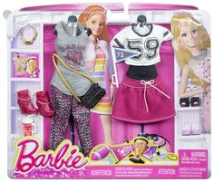 Barbie Fashion Complete Look 2-Pack, Sport Set www.amazon.com/Barbie-Fashion-Complete-2-Pack-Sport/dp/B00M5AUEXG/ref=pd_sim_t_2?ie=UTF8&refRID=1C8JNZH4MBDS308DXASQ