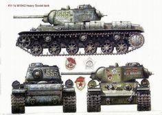 Red-Army KV-1s Heavy Tank