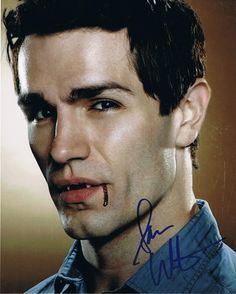 Image detail for -SAM WITWER - Being Human AUTOGRAPH Signed 8x10 Photo