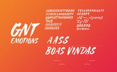 Globosat GNT Channel Lettering on Typography Served