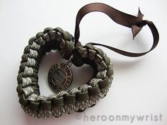 :) This could be made by making a bracelet and tying with ribbon or burning ends together