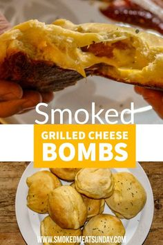 Easy Cheesy Grilled Cheese Bombs - Kid Friendly and Mommy Approved smoked grilled cheese bombs - kid recipe - barbecue recipes for kids - pellet grill - smoked treats Traeger Recipes, Barbecue Recipes, Grilling Recipes, Pizza Recipes, Cheese Recipes, Lunch Recipes, Grilled Cheese Rolls, Grilled Cheeses, Cheese Bombs
