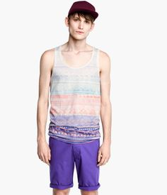 Love singlet from H's summer 2013 collection but the last time i was there they only had it in a large :(
