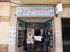 El triángulo » Kiosko Prades de Onda reparte 140.000€ de un 4º premio de lotería de Navidad http://www.eltriangulo.es/contenidos/?p=60750