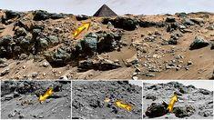 Evidencias de una antigua civilización en Marte. Hay una cantidad de pruebas para afirmar la existencia de antiguas estructuras artifici...
