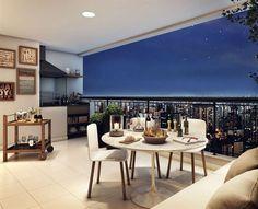 Terraço gourmet não é uma exclusividade dos apartamentos mais caros. O Living da Vila Guilherme tem aptos a partir de 63 m² e todos já serão entregues com churrasqueira no terraço. Pode chamar os amigos!