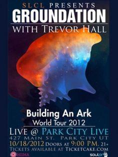 Catch #Groundnation live in #ParkCity, UT on Thursday, October 18, 2012. http://ticketcake.com/event/groundation/park-city/2012-10-18