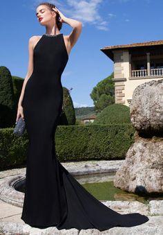 Tarik Ediz 92629 - gorgeous long tailed dress