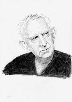 Rysunek ołówkiem, Gustaw Holoubek