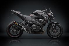 Kawasaki Z800 with Rizoma styling kit - hot