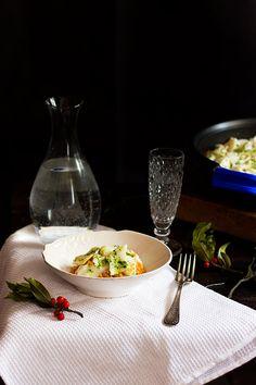 Yerbabuena en la cocina: Risotto con bacalao confitado