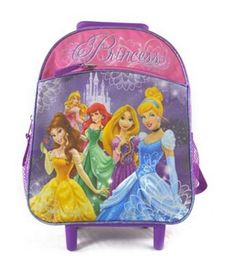 disney princess rolling backpack - the backpack is back on redsoledmomma.com