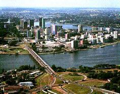 Abidjan, Cote d'Ivoire. Lived here for 1 year then visited while I was in boarding school in England.