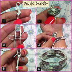 Photo Tutorial: Double Bracelet