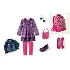 back to school wear for little miss #childrensplace.com