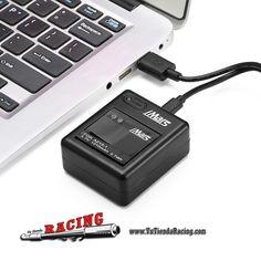 16,08€ - ENVÍO SIEMPRE GRATUITO - 2X Baterías 1010mAh con Cable USB Cargador para Cámara Xiaomi Yi Sports - TUTIENDARACING