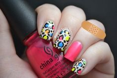 Fabulous and Eye-Catching Neon Nails Art Designs   Pink and Milk