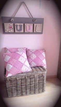 Meisjes babykamer on pinterest vintage plates girls bedroom and colour schemes - Meisjes slaapkamer deco ...