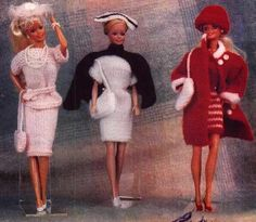 Herbie's Doll Sewing, Knitting & Crochet Pattern Collection: 12 inch dolls Knitting Pattern