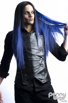 Midnight Blue Invisible U- Part Wig – Penny Dreads & Wigs