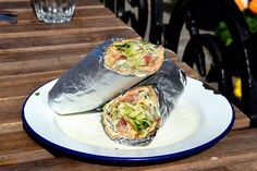 Indian Omlette Wrap at Babu Bombay Street Kitchen, Glasgow