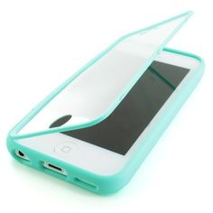 For Apple iPhone 5c Colorful TPU Wrap Up Case Cover w Built in Screen Protector. Very cool