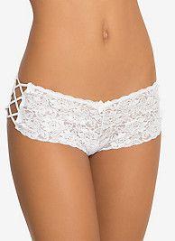 Strappy Lace Cheeky Panty SKU: 10429134