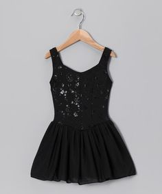 Take a look at this Black Whimsical Princess Tutu Dress - Toddler & Girls by Capezio on #zulily today!