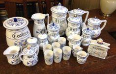 Vintage Heritage by Royal Sealy 30 Piece Ceramic Kitchen Set | eBay