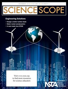 "The November issue of Science Scope is now online! This month, we focus on Engineering Solutions so you can help your students become the problem-solvers of tomorrow. Don't miss this issue's free article, ""Engineering Design and EFFECTs: A Water Filtration Example.""  http://www.nsta.org/publications/browse_journals.aspx?action=issue&id=98066"
